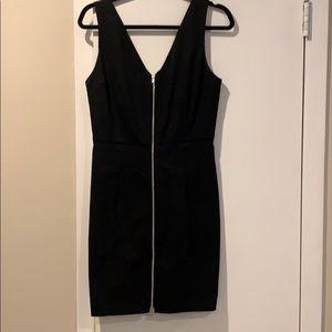 Aqua Zipper Dress